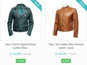 Buy online leather jackets for women in UK