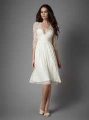 Sophisticated Lace Wedding Dresses by Catherine Deane
