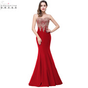 Adorable Appliques Evening Gowns for a stunning look