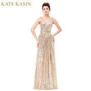 Be fashionable with Long Sequin Evening Dress