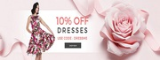 10% off on dresses - Hearts & Roses London