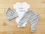 Organic Baby Grows for little baby| Tilly & Jasper