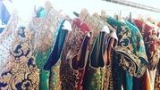 Buy Un-Stitched boutique dresses