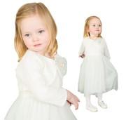 Baby girl christening dresses of the most elegant kind
